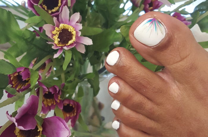 Pedicure and Nail Art